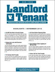 New York Landlord v. Tenant